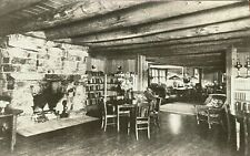 Adirondack RPPC The Library at Little Moose Lodge, Adirondack League Club