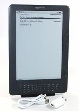 """Kindle DX, Free 3G, 9.7"""" E Ink Display, 3G Works Globally - GOOD CONDITION"""
