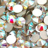 1440* AB Crystals Flat-Back 2058&2088 Non Hotfix Rhinestones for Nail Art Decor❃
