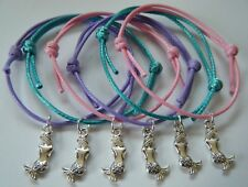 x6 MERMAID PARTY BAG GIFT FILLERS FRIENDSHIP BRACELETS HEN GIFTS WEDDING FAVOURS