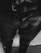 Rubio Custom Leather Pants Size 42 kink fetish bluf gay