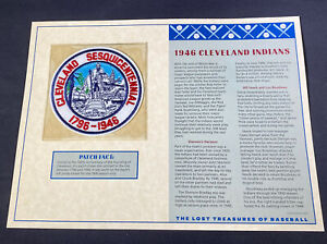 Willabee & Ward Lost Treasures Of Baseball Collection 1946 Cleveland Indians