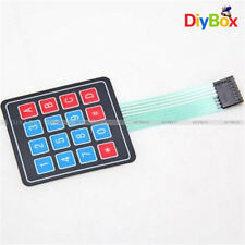 2Pcs 4 x 4 Matrix Array 16 Key Membrane Switch Keypad Keyboard F Arduino PIC