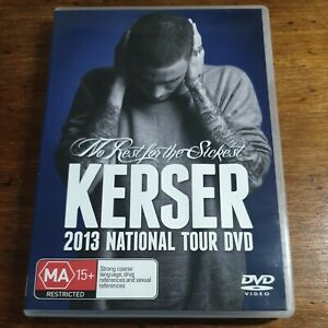KERSER No Rest for the Sickest DVD R4 LIKE NEW FREE POST