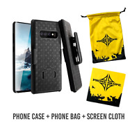 SAMSUNG GALAXY S10 Case COMBO KIT Shell Holster Case Slim Fit Swivel belt clip