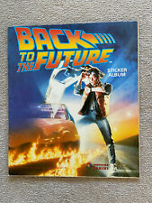 More details for panini 'back to the future' sticker album complete with 106 stickers