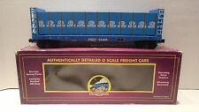 M.T.H. Train 20-98112 Florida East Coast Bulkhead Flat Car With Lumber O-Scale