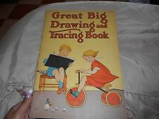 Vintage Great Big Drawing and Tracing Book