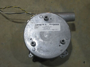 Ametek Windjammer centrifugal 2 stage blower Model # 116630-07 120VAC 65 cfm