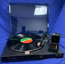 Parasound Ttd820 Direct Drive Turntable bundled w/ Grado Xf-2+, New-Old Stock