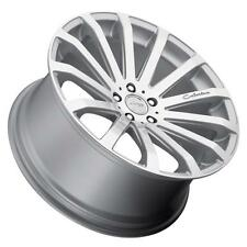 MRR HR9 20x8.5 5x120 Silver Wheels Rims (Set of 4)