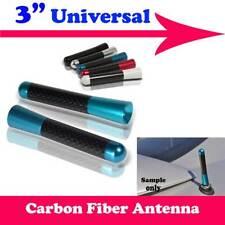 """3"""" Carbon Fiber Aluminum Roof Car Short Antenna Polished Blue Fit For Dodge VF6"""