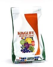 KING LIFE 20-20-20 1KG CONCIME NPK IDROSOLUBILE CON MICROELEMENTI