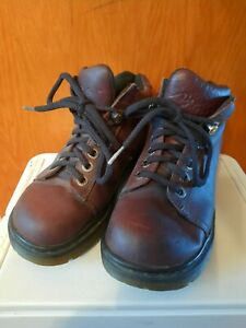 Vintage Dr. Martens Women's 8542 Size 4 Brown Leather Chunky Comfy Cool!