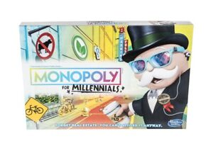 Monopoly For Millennials,Millenials Board Game *NEW* Factory Sealed, Hot Item!!!
