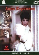 DVD  Anna Karenina (2DVD NTSC)  LEO TOLSTOY RUSSIAN MOVIE ENGLISH,RUSSIAN,FRENCH