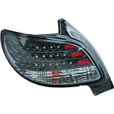 Rückleuchten Set für Peugeot 206 98-05 LED Schwarz Nicht CC