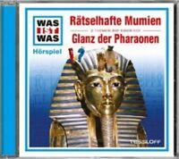 WAS IST WAS - FOLGE 10: RÄTSELHAFTE MUMIEN/GLANZ DER PHARAONEN  CD NEU