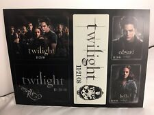 Promo Only - Twilight Film - Sticker Sheet - 11/21/08 -  Edward - Bella - dsk