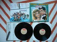 Grease Vinyl Original Soundtrack 1978 RSO 2 LP Olivia Newton John RSD 2001 EXC
