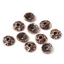 Rustic findings bronze bead caps set Acorn Handmade bronze findings 1531