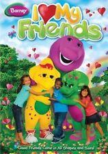 I Love My Friends With Barney DVD Region 1 884487111448