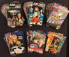 STAR TREK THE NEXT GENERATION #1 - 80 Comic Books+ FULL SET Picard WORF Data DC