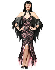 Sexy LACY VAMPIRE VAMP GOTH GIRL Costume Dress Adult Woman  NEW MIP LG 8-10