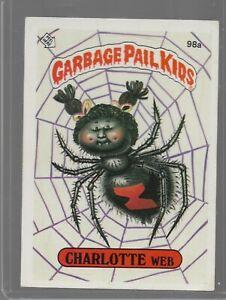 98a Rare OS3 Vintage Retro 1986 Garbage Pail Kids GPK Topps Collection Card L27