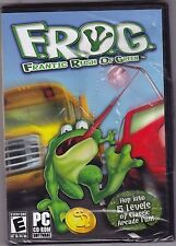 New Frog Frantic Rush Of Green For PC CD-ROM 15 levels of Classic Arcade Fun