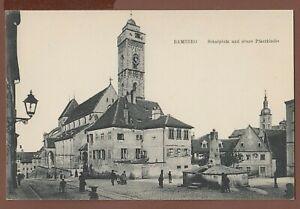 Bamberg,schöne Straßenansicht mit Schulplatz