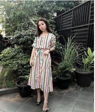 de1bac90ebb Zara Linen Blend Striped Dresses for Women