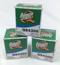 QTY 3  QUAKER STATE  QS4386 OIL FILTER FREE SHIPPING