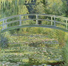 Claude Monet Water Lily Pond Poster Reproduction Paintings Giclee Canvas Print