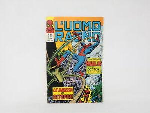 L'UOMO RAGNO EDIZIONE CORNO N° 89  [EB-089B]