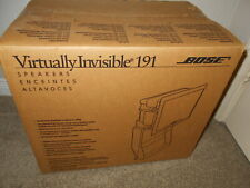 Bose Virtually Invisible 191 in-wall/ceiling speakers. Brand New (in opened box)