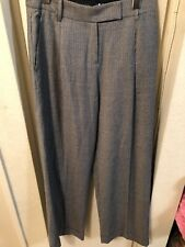 L.A.M.B Plaid Wool Wide Leg Pants Sz 0