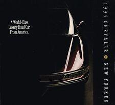 1994 Chrysler New Yorker Folleto/Folleto