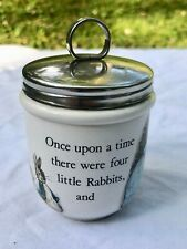 New ListingWedgwood Barlaston Etruria Peter Rabbit Double Egg Coddler Mint!