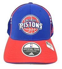Vintage Detroit Pistons Adidas Hat NBA Basketball Baseball Cap One Size