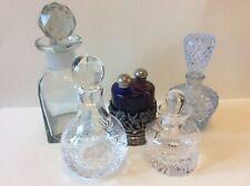 Perfume Mini Decanter Bottles Vintage Modern Glass Royal Doulton