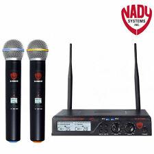 Nady U-2100-HT Band A/B Dual UHF Wireless Handheld Microphone System - Brand New