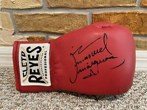JUAN MANUEL MARQUEZ SIGNED AUTO CLETO REYES BOXING GLOVE MEXICO AUTHENTIC