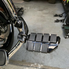 Black Motorcycle Highway Foot Pegs For Harley Electra Street Glide Ultra limited (Fits: Mastiff)