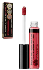 Soap & Glory Sexy Mother Pucker Lip Lacquer Plumping Gloss NEW Full Size Woppink