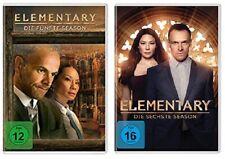 12 DVDs * ELEMENTARY - STAFFEL / SEASON 5 + 6 IM SET # NEU OVP +