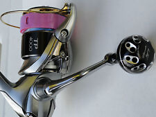 U.J. PRK 30mm KNOB FOR Shimano Sustain Stradic 1000 ~ 4000 FG REEL Black/Silver