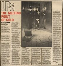 18/9/82Pgn35 Review: simple Minds-new Golden Dream the Melting Point Of Gold