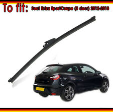 "Seat Ibiza SportCoupe (3 door) 2012-2018 Exact Fit Rear Wiper Blade Quality 13""V"