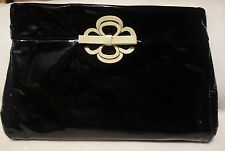 Miu Miu PRADA Patent leather bow clutch